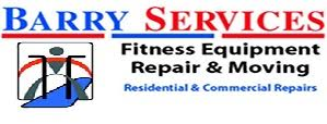 Barry Services Treadmill & Sports Equipment Repair & Moving They repair, assemble, and relocate all types of treadmills, ellipticals, home gyms and cross trainers for the entire Chicago area